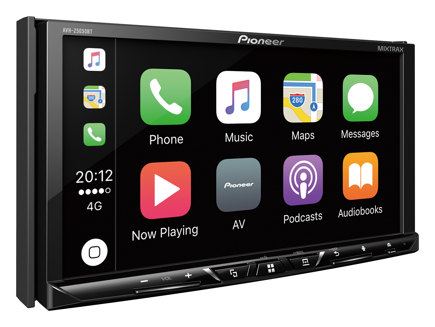 Avh Z5050bt Pioneer Diagram Also Kenwood Double Din Car Stereo Further 2016 Sport Cars Km701 Rcrdri White Left A1